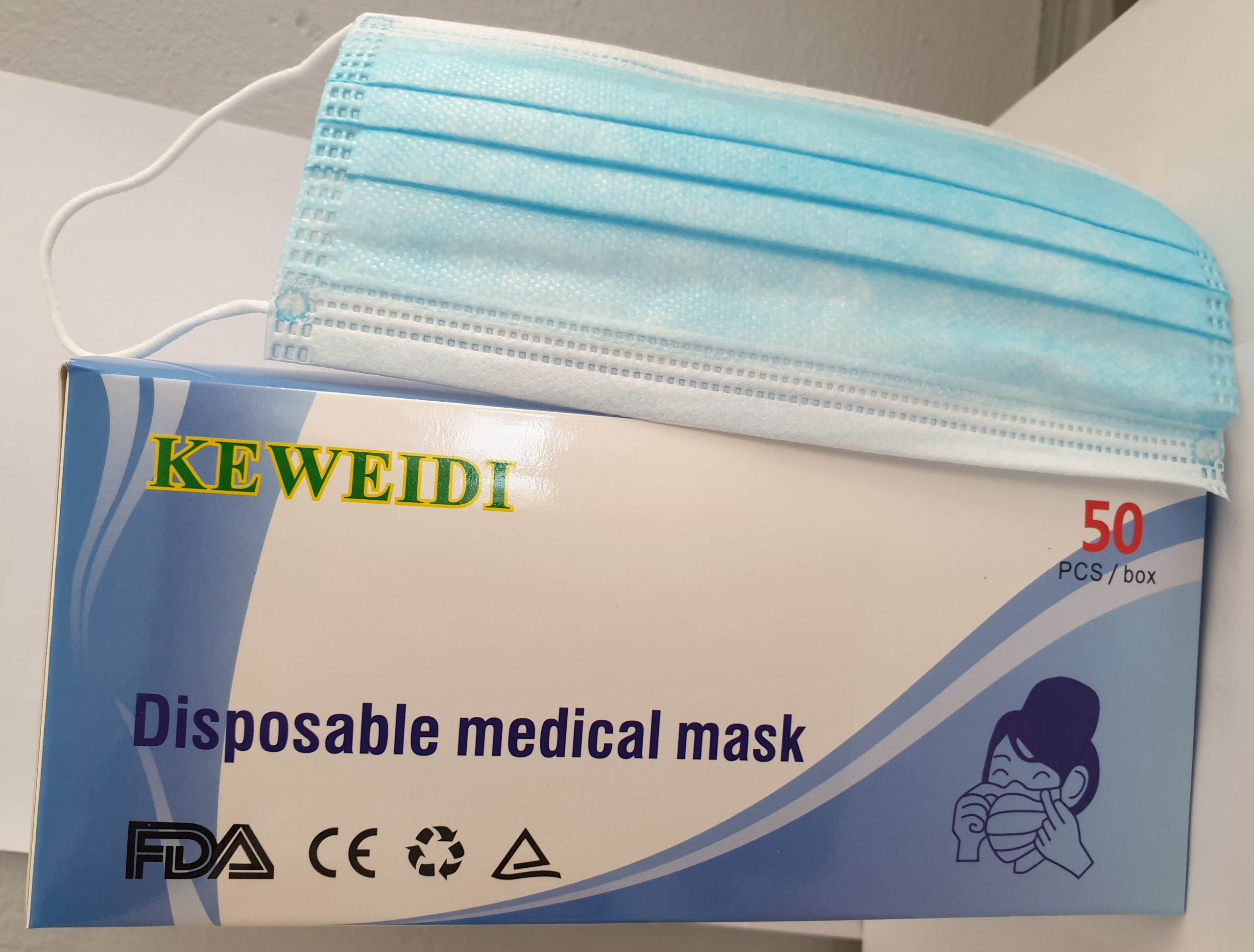 Medical Masks (Pack of 50)