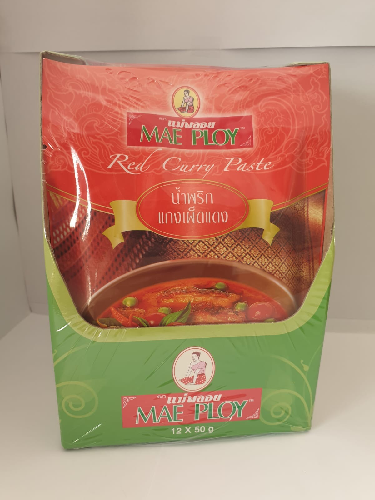 Red Curry Paste (Mae Ploy)